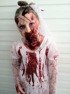 Super Scary Halloween Costume ~ Zombie Bride Zombie Halloween costume