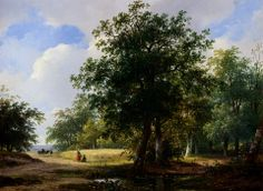 Schelfhout_Andreas_Peasants_In_A_Cornfield