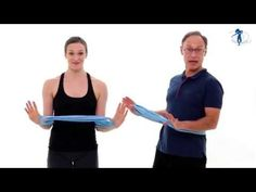 ▶ Oblique Abdominal Workout with Bands - Franklin Method® - YouTube