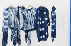 The hand-dyed shibori workshop at MiH Jeans HQ, and a competition to win a piece from the collection