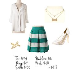 Striped Skirt | Summer Style | Business Casual | Office Wear | Outfit Inspiration @The Business Casual