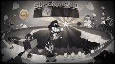 Mario meets Tex Avery! <3 Reach for the stars! by deadbear.deviantart.com on @deviantART