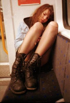 Allison is a seventeen year old, spirited girl who lives with her adopted father. Your character sees her on the bus, looking disheveled and absolutely exhausted as her head is leaned against the side, asleep. It seems as if she's crying in her sleep.