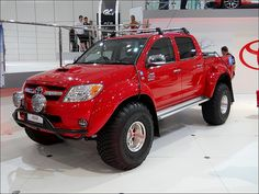 Toyota Hilux Arctic Truck.  I will own one of these!