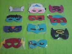 antifaces superheroes infantiles 1ra.calidad, super oferta!