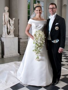 CROWN PRINCESS VICTORIA POOL 27 | Fabulous royal wedding gowns | The Courier-Mail