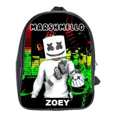 FORTNITE MARSHMELLO EVENT LEATHER XL BACKPACK Marshmello Alone, Dj Marshmello, First Day Of School, Pre School, Gifts For Kids, Great Gifts, Battle Royale, Cool Backpacks, Feeling Special