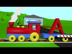 An  Alphabet Train that teaches children their letters in a fun and colorful way.  Have your child read along and take a ride on the Alphabet Train today! Colorful train t-shirts at www.zazzle.com/vidz4kids