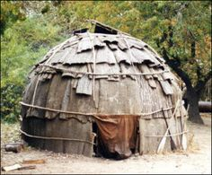 Traditional Abenaki House
