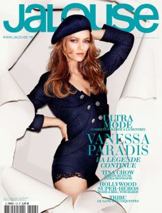 Vanessa Paradis Covers Jalouse, Models Chanel - Coco's Tea Party