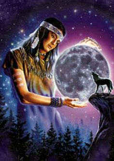 Fantasy art - Native american - Galleries - Page 57 Native American Wolf, Native American Images, Native American Wisdom, Native American Artwork, Native American Beauty, American Indian Art, American Indians, American Women, Native Indian