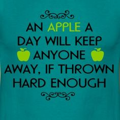 an appel a day by bavariaapparel