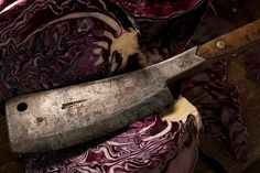 Red Cabbage + Cleaver