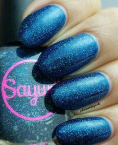 Sayuri Nail Polish HHC custom Glacier Tears