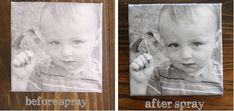 How to make: Easy Photo Canvas - The Shabby Creek Cottage Photos Onto Canvas, Canvas Pictures, Print Pictures, Canvas Photo Transfer, Photo Canvas, Diy Wall Art, Diy Art, Wall Decor, Mod Podge Crafts