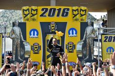 """Tony """"The Sarge"""" Schumacher Wins the US. Army T/F Dragster with DSR Team at The Mopar Mile High Nationals."""