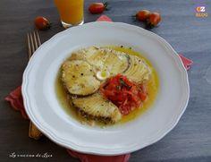 Pesce Spada con Pomodorini e Succo d'Arancia - La Cucina di Lice