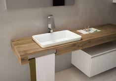 decoralinks | ampliar el baño con mobiliario volado