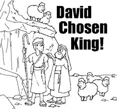 1000 images about david on pinterest david and jonathan for King david bible coloring pages