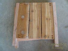 Pretty Front Porch: DIY Large Cedar Planter Boxes – Engineering A Home Diy Wooden Planters, Diy Planters Outdoor, Window Planters, Planter Box Plans, Cedar Planter Box, Garden Planter Boxes, Outdoor Wood Projects, Wood Shop Projects, Diy Outdoor Furniture