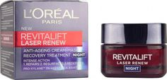 L'Oréal - Revitalift Laser Renew Anti-Ageing Night Cream. Decent night moisturiser for a budget, good product to have as a back up.