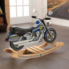 Rocker: Police Rockin' Motorcycle w/ light and sound