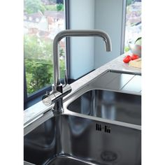 Reginox Amanzi Chrome Boiling Hot Water Tap Including Tank and Filter Plumbing Drains, Plumbing Tools, Rooter Plumbing, Plumbing Humor, Enzyme Cleaner, Drain Cleaner, Plumbing Installation, Commercial Plumbing, Modern Deck