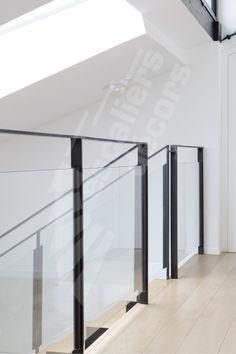 Garde corps en verre pour interieur