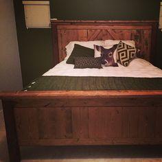Hunters green bedroom