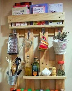Ideas de almacenaje en cocinas