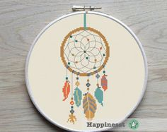 cross stitch pattern arrows arrows native PDF par Happinesst