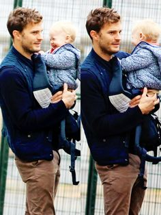Imagine....Christian with little Teddy