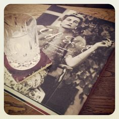 Afternoon drink #ouzo #drink #book #cafesociety #drinking #straight @Costa Arvanitopoulos