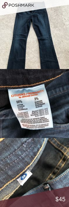 Citizens of humanity jeans, size 29 Citizens of humanity jeans size 29. Amber medium low rise bootcut style. No rips, stains or holes. No fraying. Citizens Of Humanity Jeans