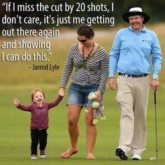 Jarrod Lyle - an inspiration to us all!  Go you good thing!!!!
