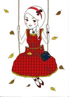 Anna Lou calendar - October