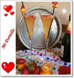 Mi Dornillo, la cocina de Estela.: Cóctel San Valentin.