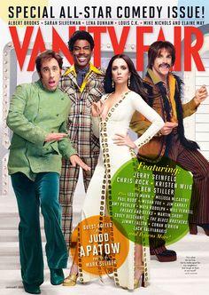 pop-sesivo:    The Vanity Fair Comedy Issue Cover #3 featuring Jerry Seinfeld, Chris Rock, Kristen Wiig and Ben Stiller (vía Pajiba).