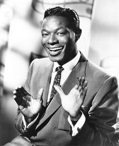 Nat King Cole [1919, Montgomery, AL - 1965, Santa Monica, CA] Nathaniel Adams Coles was an American singer who first came to prominence as a leading jazz pianist. He was widely noted for his soft, baritone voice, which he used to perform in big band and jazz genres and which he used to become a major force in popular music for three decades producing many hit songs.