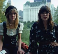 Nancy and Ann Wilson of Heart, 1977
