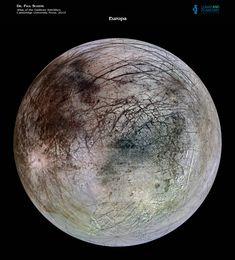 Europa - Satélite de Júpiter