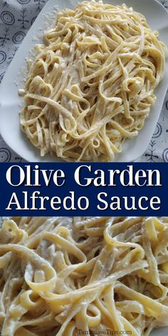 Easy copycat Olive Garden Alfredo Sauce at home. How to make homemade alfredo sauce from your favorite restaurant. Copycat Olive Garden Alfredo, Olive Garden Alfredo Sauce, Home Made Alfredo Sauce, Recipe Alfredo, Copycat Recipes, Sauce Recipes, Crockpot Recipes, Chicken Recipes, Quinoa