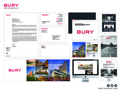 Our first place SMPS National Award - Corporate Identity, 1st Place, Bury, Austin, TX