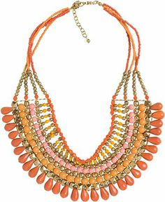 Bib necklace only $19.50 at Swell.com