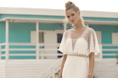 Collection 2019 - The new Rembo Styling Bridal Collection is here Flowing Wedding Dresses, Boho Chic Wedding Dress, Boho Gown, Wedding Dresses For Sale, Wedding Dress Shopping, Wedding Dress Sleeves, Dresses With Sleeves, Short Sleeves, Rembo Styling