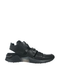 Cinzia Araia Leather sneakers with cut-out | Lindelepalais.com 35820