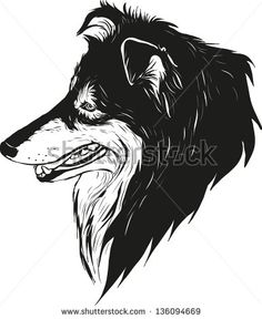 adults coloring pages dog sheltie - Google Search