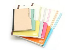 awesome collection of sketchbook ideas! Kokuyo Campus Slanted Page Notebook via handmadecharlotte.com