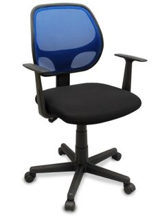 """Offices to go to office chair - Pin it :-) Follow us :-)) AzOfficechairs.com is your Office chair Gallery ;) CLICK IMAGE TWICE for Pricing and Info :) SEE A LARGER SELECTION of  office to go office chair at  http://azofficechairs.com/?s=office+to+go+office+chair - office, office chair, home office chair -  The """"Distrikt"""" Computer Task Mesh Ergonomic Office Chair (Blue) « AZofficechairs.com"""