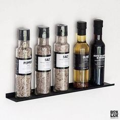 como gallerihylde i metal - 40 cm. House Doctor, Kitchenette, Sorting, Whiskey Bottle, Sweet Home, New Homes, Metal, Kitchens, Home Decor